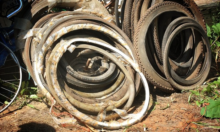 old-bicycle-tires