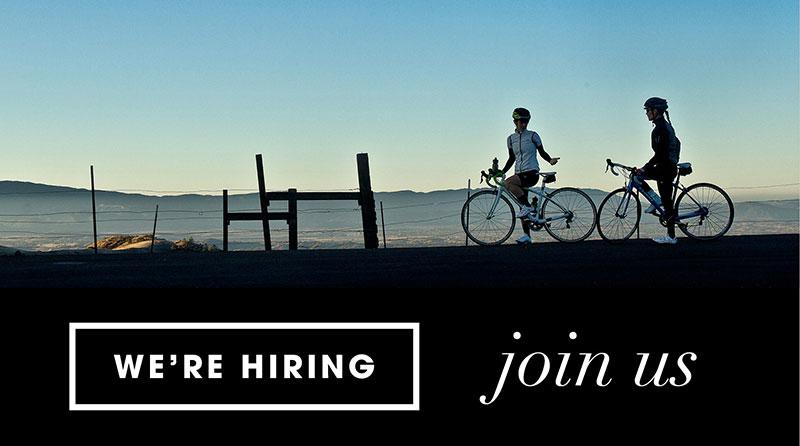 Bike Switzerland we're hiring